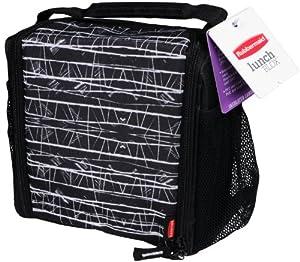 Rubbermaid  Lunch Blox medium durable bag - Black Etch