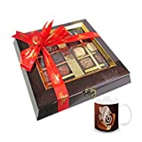 Chocholik Belgium Chocolate Gifts - Assortment Of Exotic Chocolates With Diwali Special Coffee Mug - Gifts For...