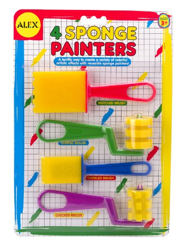 ALEX Toys Artist Studio 4 Sponge Painters - 1