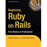 Beginning Rails: From Novice to Professional (Expert's Voice) ~ Jeffrey Allan Hardy