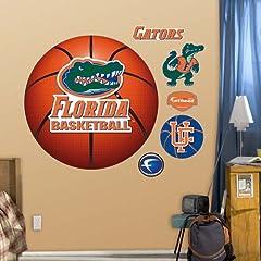 NCAA Florida Gators Basketball Logo Wall Graphic by Fathead