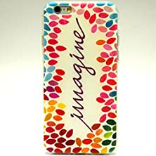 "buy Sophia Shop Apple Iphone 6 Plus 5.5"" Case, Ultra Slim Tpu Soft Cover Case, Scratchproof Dustproof Anti-Slip [Animal Style] [Tribal Pattern] [Flower Pattern] [Fashion Pattern] [Text Pattern] [Totem Pattern] Protective Skin Case (Imagine)"