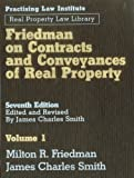 Friedman on Contracts and Conveyances of Real Property (3 Volume Set)