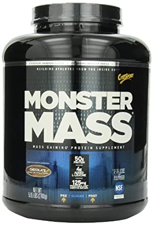 CytoSport Monster Mass, Chocolate, 5.95 Pound
