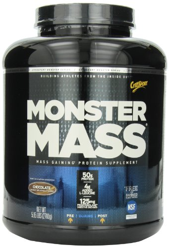 CytoSport Monster Mass 2700 g Chocolate Weight Gain Shake Powder