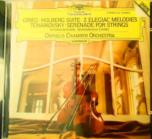 Grieg: Holberg Suite op. 40, Two Elegiac Melodies op. 34; Tchaikovsky: Serenade for Strings op. 48