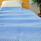タオルケット コットン100% シングルサイズ140×190cm 215-110 (ブルー) ランキングお取り寄せ