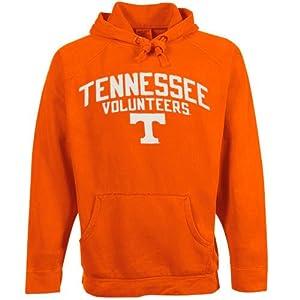 NCAA adidas Tennessee Volunteers Tennessee Orange Vintage Starter Pigment Dyed Pullover Hoodie (Large)