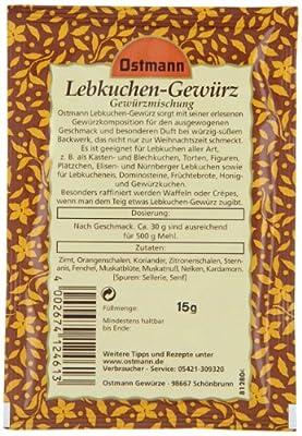 Ostmann Lebkuchengewürz, 4er Pack (4 x 15 g) von Ostmann auf Gewürze Shop