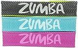 Acquista Zumba Fitness Donna Kopfbügel Out-of-my-way Fascia per la frontes - 3 pezzi, Multicolore (multi), Taglia unica