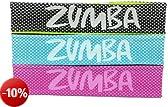 Zumba Fitness Donna Kopfbügel Out-of-my-way Fascia per la frontes - 3 pezzi, Multicolore (multi), Taglia unica