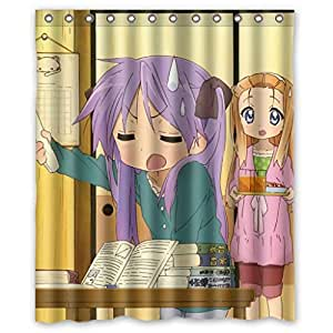 Lovely Cartoon Character High Quality Waterproof Bathroom Shower Curtain Measure 60