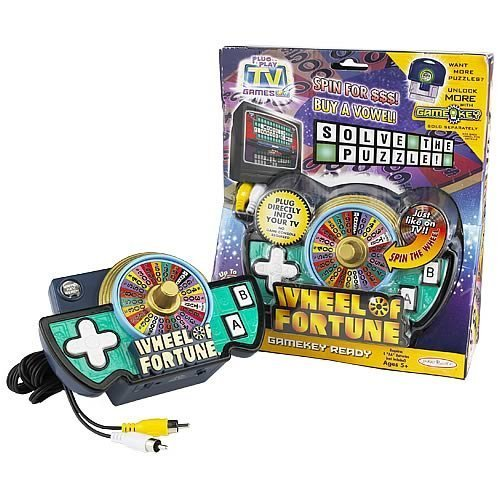 Jakks Wheel Of Fortune Tv Game front-314207