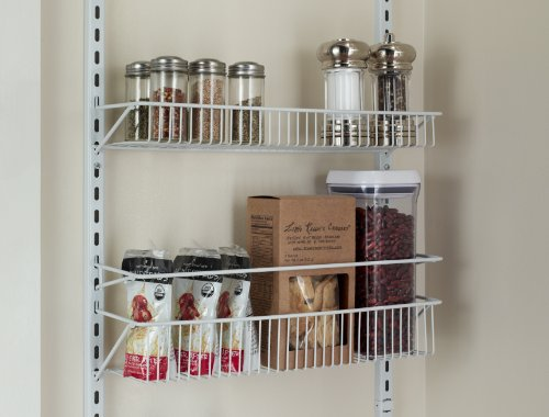 "Adjustable 18"" Closet Organizer 8-Tier Wall And Over The"