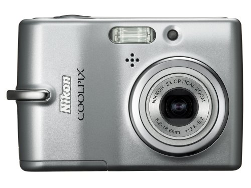 Nikon Coolpix L10 5MP Digital Camera with 3x Optical Zoom
