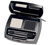 'Black Pearl' Black & White Eyeshadow Duo In Compact + Mirror & Applicator Avon