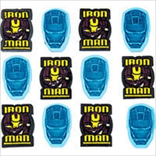 Iron Man '2' Eraser Value Pack / Favors (12ct) - 1