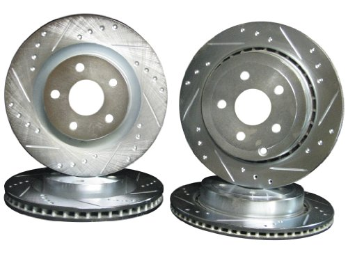 2008-2009 Pontiac G8 GT Front & Rear Brake Disc