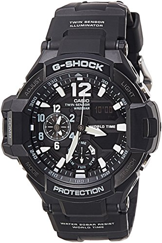 Casio G-SHOCK GA-1100-1ADR SKY COCKPIT Aviation Watch
