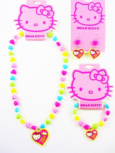 Hello Kitty - Cup Cake 100% Cute Earrings (Pierced