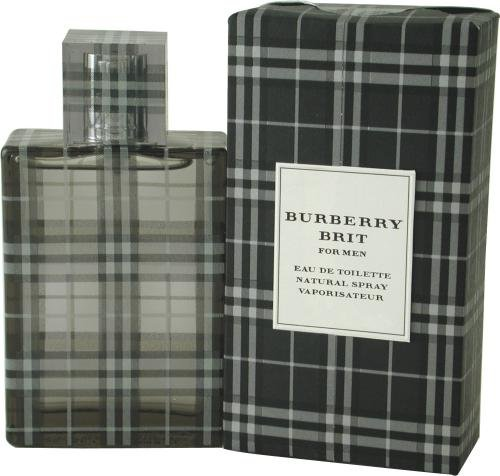 Burberry Brit By Burberry For Men. Eau De Toilette Spray 3.3 Ounces
