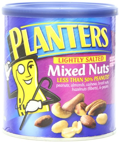 Planters Mixed Nuts, Lightly Salted, 15-oz. (Count of 3) (Deluxe Salted Nuts compare prices)