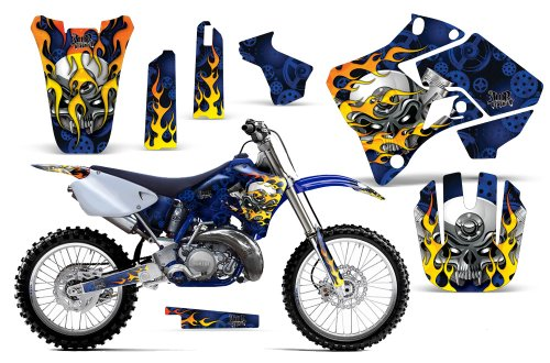 1996-2001-Yamaha-YZ-125250-AMRRACING-MX-Graphics-Decal-Kit-Motorhead-Blue