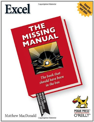 Excel the Missing Manual