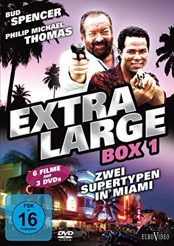 Extralarge: Box 1 - Zwei Supertypen in Miami [3 DVDs]