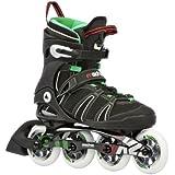 K2 Sports Men's Mach 90 X-Training 2012 Inline Skates (Black/Green/Red)