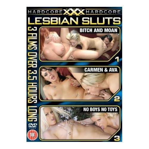 XXX Hardcore, Lesbian Sluts (3 Films) [DVD]