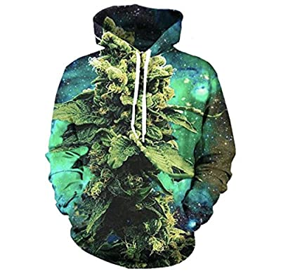 Electric Crown Weed Nugget Galaxy Hoodie