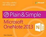 img - for Microsoft OneNote 2013 Plain & Simple book / textbook / text book