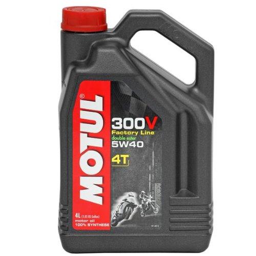 Motul 300v Synthetic Motor Oil 5w40 4l 836041