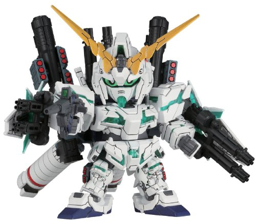 Bandai Hobby BB #390 SD Full Armor Unicorn Gundam Model Kit (Unicorn Ship Model compare prices)