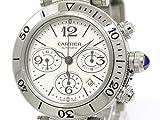 [カルティエ]Cartier【CARTIER】カルティエ パシャ シータイマー クロノグラフ ステンレススチール 自動巻き メンズ 時計W31089M7(BF098370)[中古]