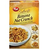 Post Selects Banana Nut Crunch Cereal, 15.5 oz (Pack of 6)