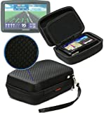 Navitech Black Hard Carry Case Cover For The TomTom GO 510 & 500 5""