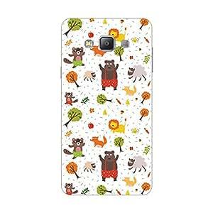 Giftroom Samsung A7 back case Cover, Premium Quality Designer Printed 3D Lightweight Slim Matte Finish Hard Case Back Cover for Samsung A7 - Giftroom-402