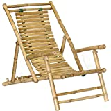 Bamboo Recliner Chair [Set of 2]