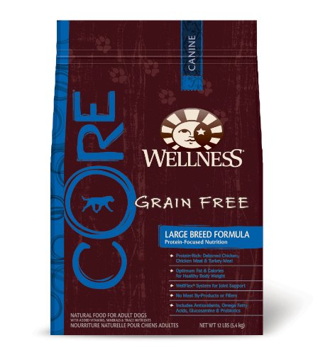 Wellness Core Formula Dry Dog Food For Large Breed Dogs