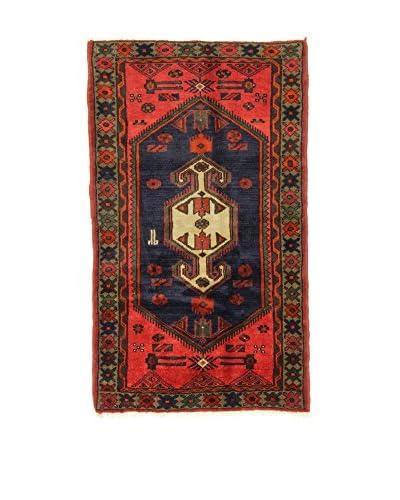 L'Eden del Tappeto Teppich Hamadan rot/mehrfarbig 78 x 128 cm