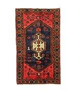 L'Eden del Tappeto Alfombra Hamadan Rojo / Multicolor 78 x 128 cm