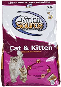 Nutri Source Cat & Kitten - Chicken & Rice - 6.6 lbs