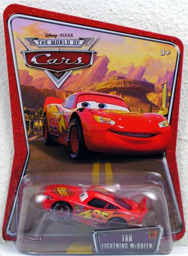 Disney Pixar Cars the World of Cars Tar Lightning Mcqueen #66