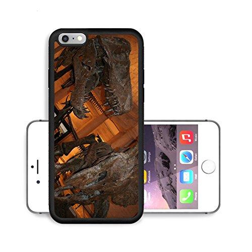 Luxlady Premium Apple iPhone 6 Plus iPhone 6S Plus Aluminium Snap Case Dinosaur exhibit at Nature History Museum of Los Angeles IMAGE ID 245748