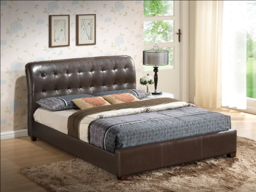 Beds With Leather Headboards 1398 front