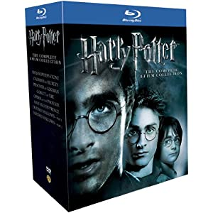 51IYZn7ifrL. SL500 AA300  [Amazon UK] Harry Potter, die komplette Blu ray Box inkl. Versand 48,41€
