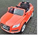 AUDI Q7 Einsitzer Originallizenz! Fernbedienung! EVA Räder! 12V