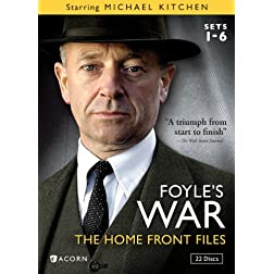 Foyle's War: The Home Front Files Sets 1-6